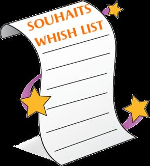 SOUHAITS - WHISLIST